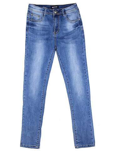 862 джинсы женские, голубые
