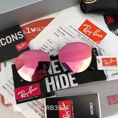 Очки Ray Ban Blaze Round RB3574 Pink