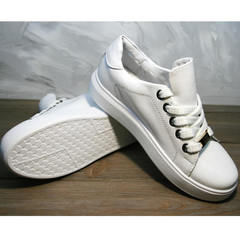 Женские туфли на низком ходу Molly shoes 557 Whate