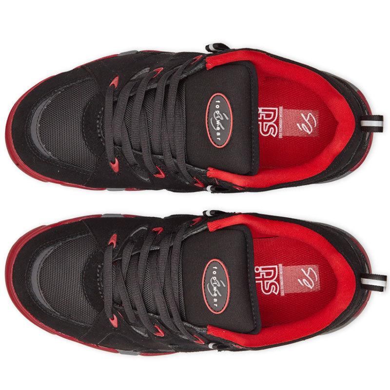 Кеды ES Symbol (Black/Red)
