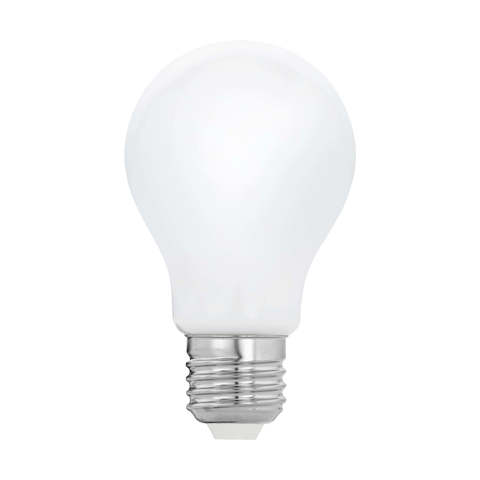 """Лампа  Eglo филаментная диммируемая """"Милки"""" опал. стекло LM LED E27 2700K 11768"""
