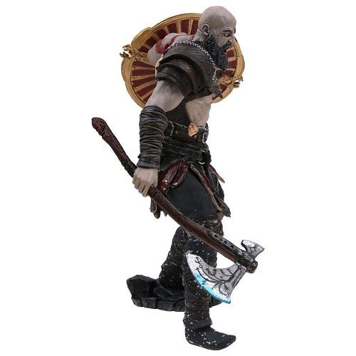 Бог Войны 4 фигурка Кратос с магическим топором Левиафаном