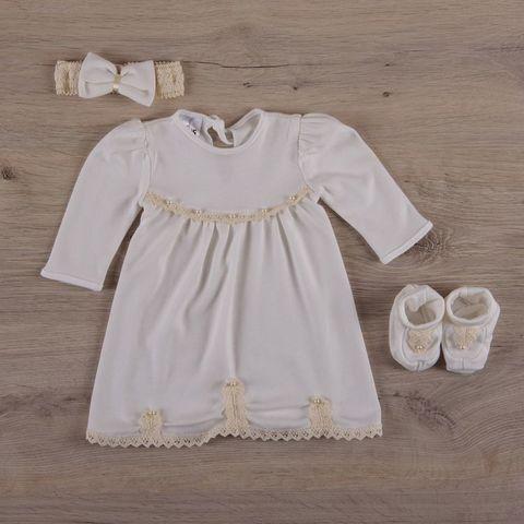 Платье для крещения девочке Гармония