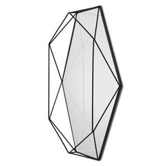 Зеркало настенное PRISMA чёрный Umbra