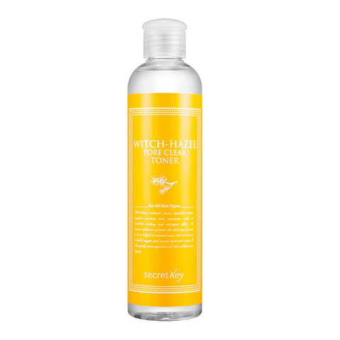 Мягкий тоник для лица с экстрактом гамамелиса Secret Key Witch-Hazel Pore Clear Toner 248ml.
