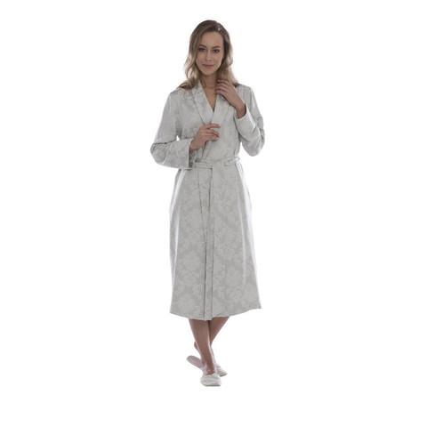 HAMPTON бирюзовый женский халат Tivolyo Home Турция