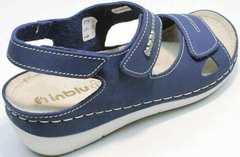 Женские спортивные сандали на танкетке Inblu CB-1U Blue.