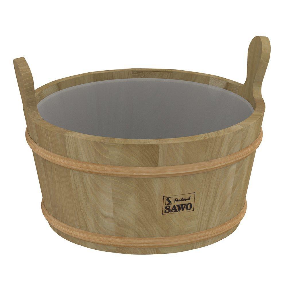 Ведра и кадушки: Кадушка деревянная SAWO 300-TD (9 литров с пластиковой вставкой) ведра и кадушки кадушка деревянная sawo 300 tp 9 литров с пластиковой вставкой