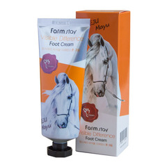 Farmstay Jeju Mayu Foot Cream - Крем для ног с лошадиным маслом