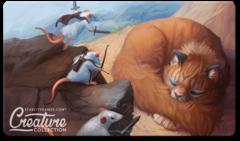 Коврик для игры SCG: Three Brave Mice