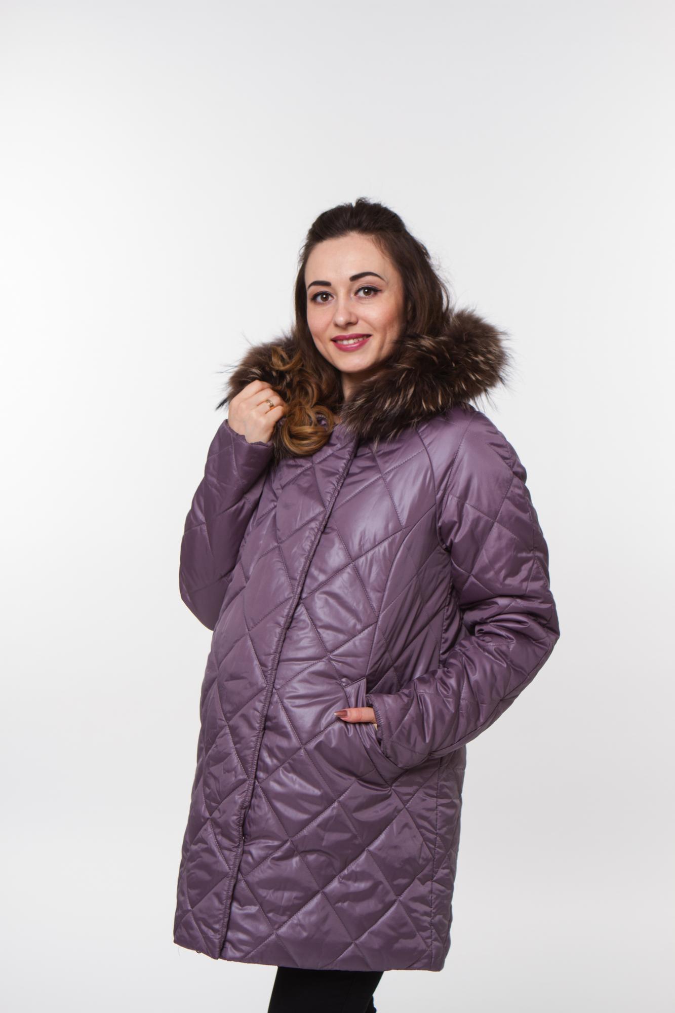Куртка 05199 фиолетовый