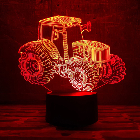 Ночник Трактор