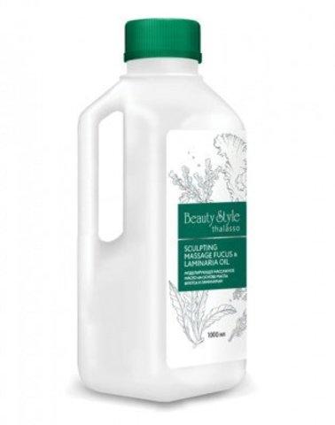 Моделирующее массажное масло на основе масла фукуса и ламинарии Beauty Style