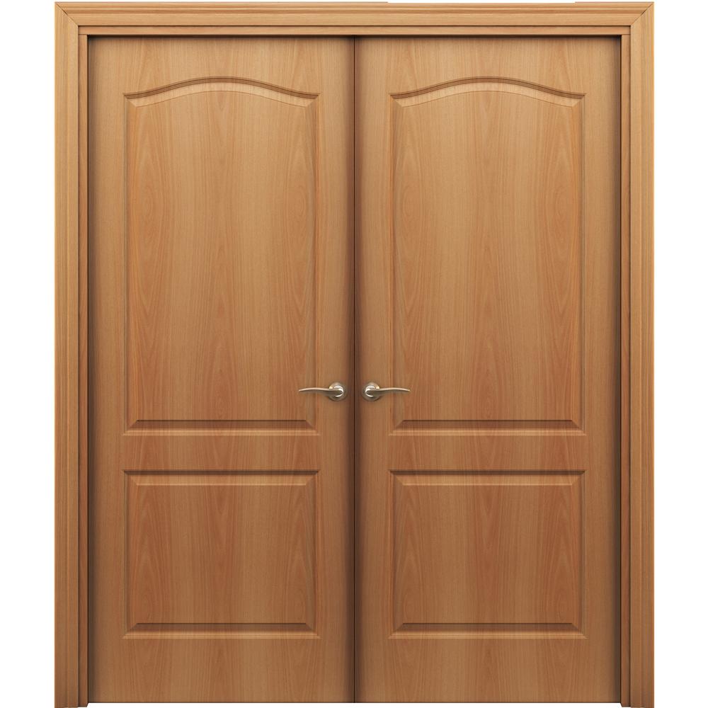 Двустворчатые двери Палитра миланский орех распашная двустворчатая без стекла palitra-pgr-milan-dvertsov.jpg