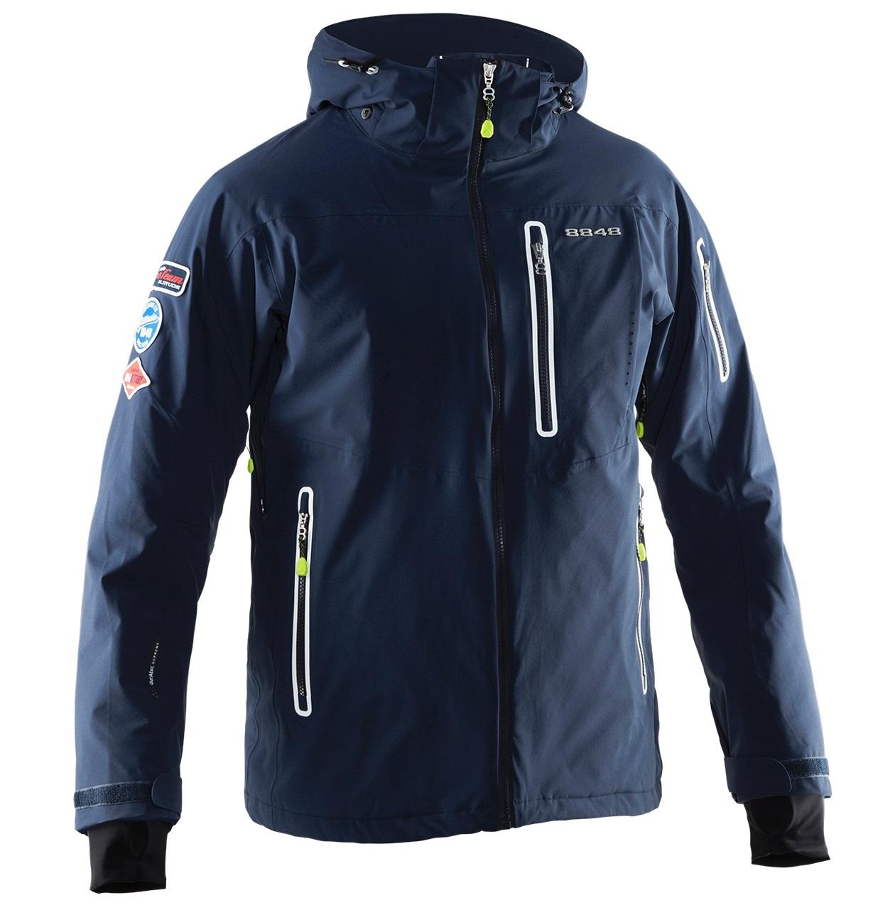 Мужская горнолыжная куртка 8848 Altitude Hinault (701715) five-sport.ru