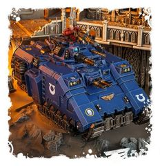 Primaris Repulsor, миниатюра