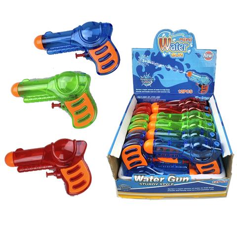Водный пистолет прозрачный, 1кор*1бл*12шт.