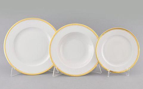 Набор тарелок 18 предметов Сабина Leander