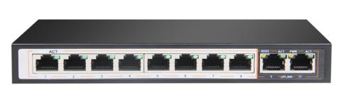 Сетевой коммутатор Polyvision PND-08P-2G