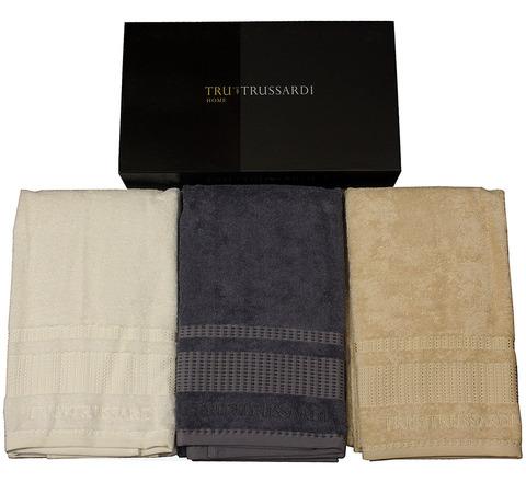 Набор полотенец 2 шт Trussardi Story ваниль