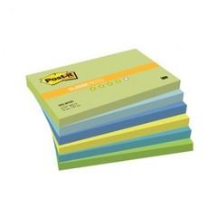 Блок-кубик Post-it 655-МТ 76х127 Хол.неон.радуга,6бл.