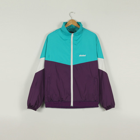 КУРТКА DISLABEL RETRO MINT/PURPLE