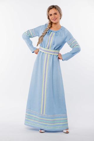 Платье льняное Чистый родник