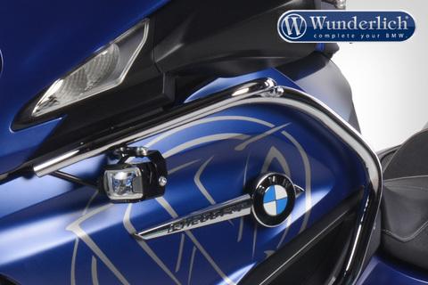Wunderlich комплект доп.света BMW R1200RT LC серебро