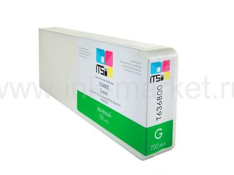 Совместимый картридж ITSinks для Epson Stylus Pro 7900/9900 Green 700 ml Pigment (C13T636B00)