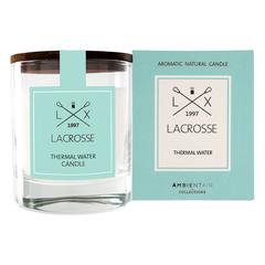 Ароматическая свеча в стекле «Термальный источник» Lacrosse круглая Ambientair