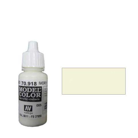 005. Краска Model Color Слоновая Кость 918 (Ivory) укрывистый, 17мл