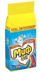 """Стиральный порошок """"Миф"""" автомат Свежий цвет 9кг"""