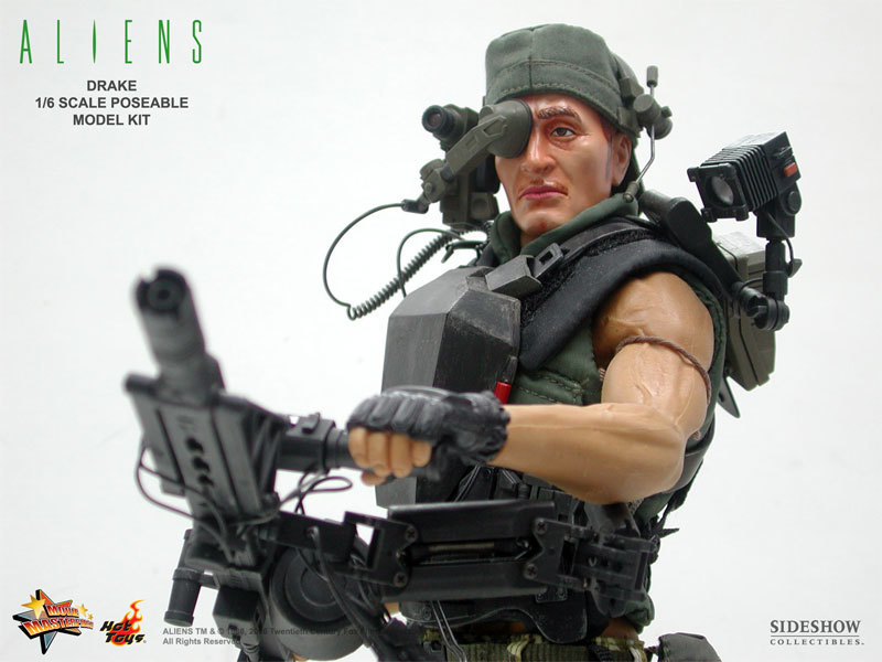 Aliens - USCM Private Mark Drake 12 inch model kit
