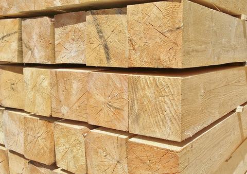 Брус 200х200х6000 мм, сорт 1, свежий лес, ГОСТ