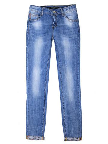 L5072 джинсы женские, синие