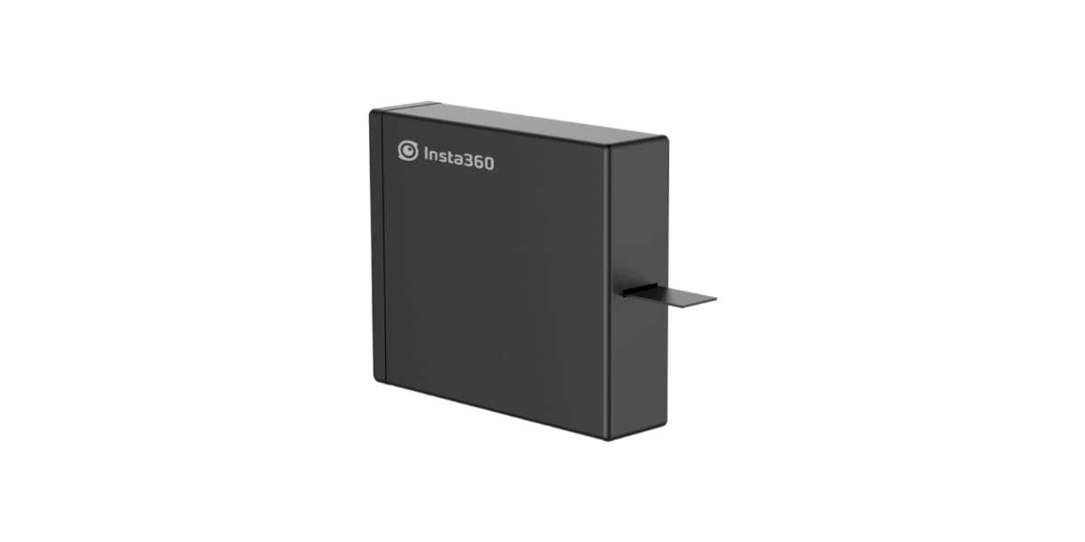 Дополнительный аккумулятор для Insta360 ONE X (Battery) вид сбоку