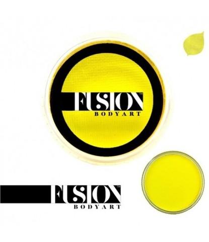 Аквагрим Fusion ярко-желтый 32 гр