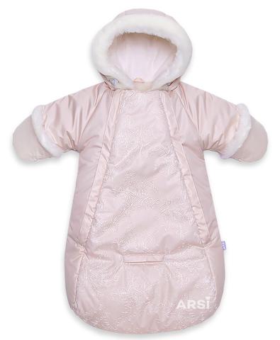 ARSI Комбинезон-мешок Метелица на овчине кремовый