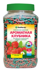 Биомастер-Ароматная клубника мин удобр 1,2кг Банка