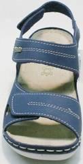 Модные сандали на липучках женские спортивные Inblu CB-1U Blue.