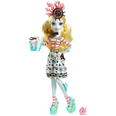 Кукла Монстер Хай Лагуна Блю (Lagoona Blue) - Кораблекрушение, Mattel