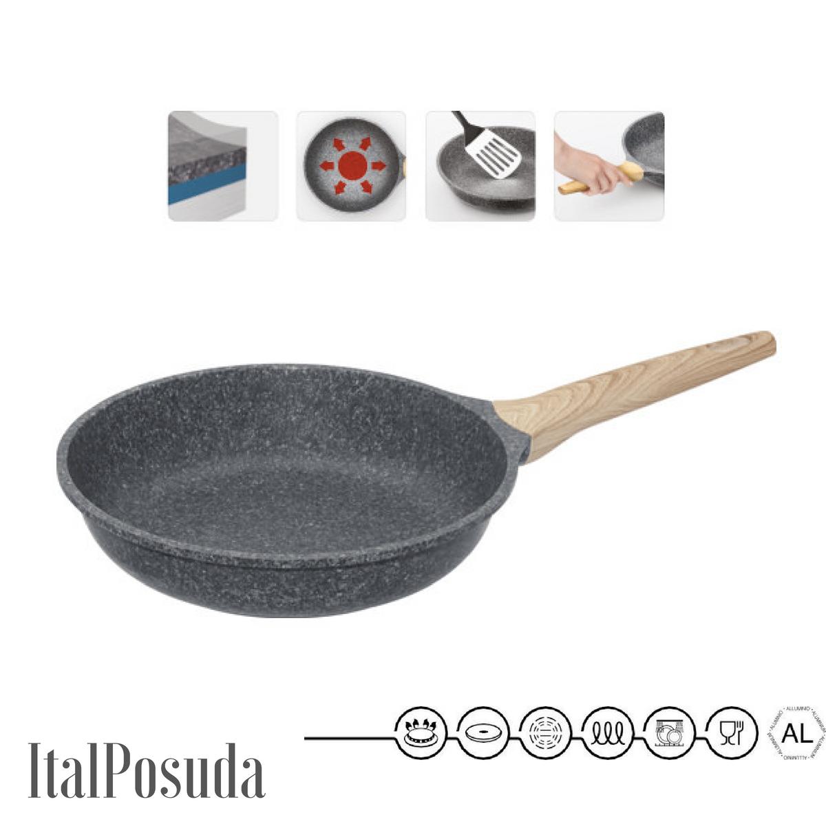 Сковорода NADOBA MINERALICA, 26 см