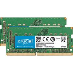 Комплект модулей памяти Crucial 32Gb (2x 16GB) 2400MHZ DDR4 для Mac 2017 SO-DIMM PC4-19200 1.2V