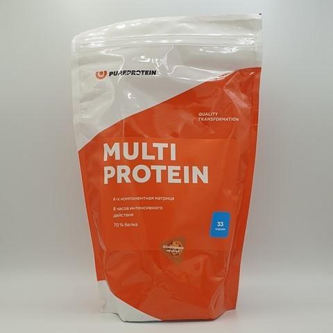 Мультикомпонентный протеин вкус Шоколадное печенье PUREPROTEIN, 1 кг