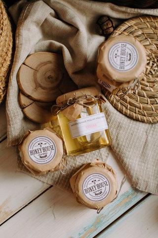 Натуральный мед Акация / Краснополянская косметика, 240 гр | 120 гр