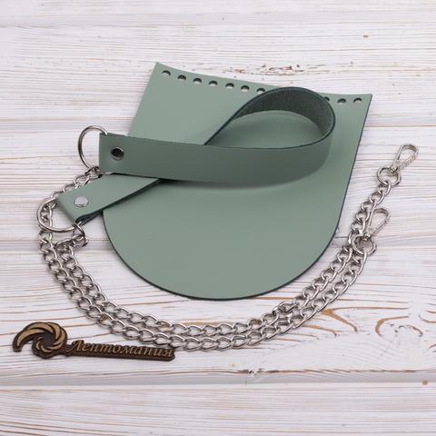"""Комплект для сумочки """"Фисташка"""" N4 без метал. фурнитуры"""
