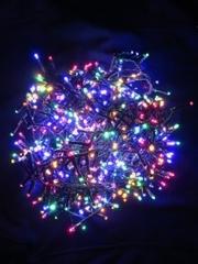 Светодиодная гирлянда Triumph Tree 550 ламп, мультиколор