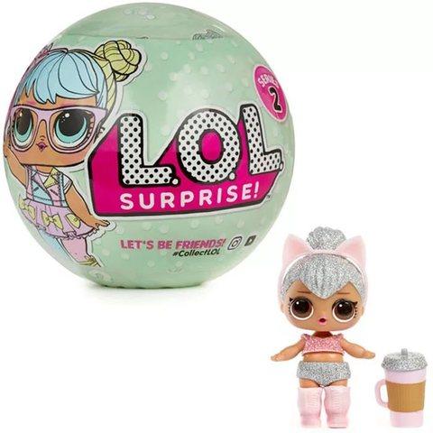 Игрушка сюрприз Кукла в шарике