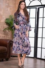 Длинный женский халат MIA Amore ETRO ЭТРО 3509