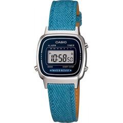 Женские наручные электронные часы Casio LA-670WL-2A2DF